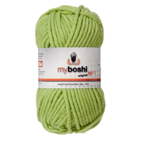 Lime Green 121 - Wool Balls 50g For DMC Myboshi Beanie Hats